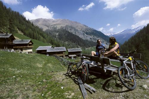 Mountainbiken im Villgratental Sommer osttirol werbung